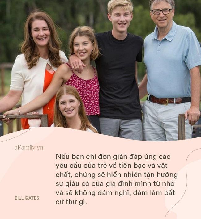 """Bill Gates và vợ """"cung đàn vỡ đôi"""", nhìn 8 điều dạy con siêu hay ho của cặp đôi một thời, ai cũng chẹp miệng: Tiếc thế!  - Ảnh 4."""