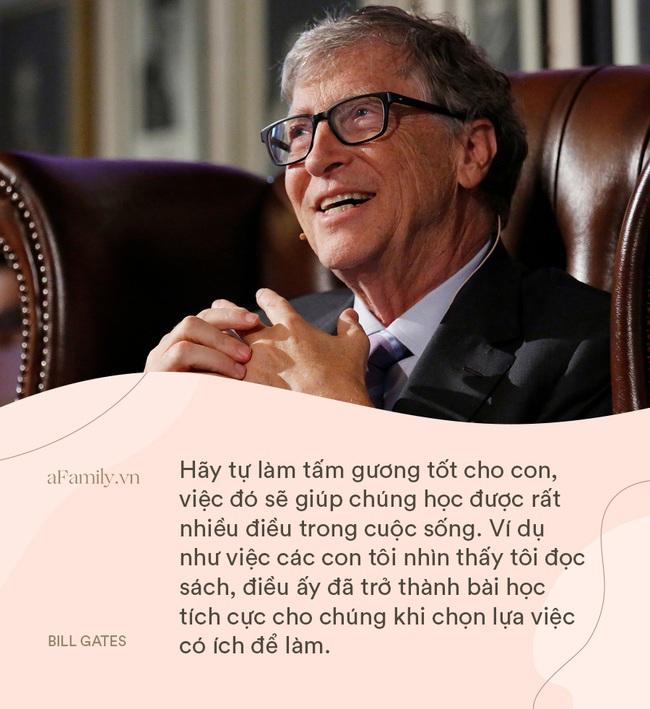 """Bill Gates và vợ """"cung đàn vỡ đôi"""", nhìn 8 điều dạy con siêu hay ho của cặp đôi một thời, ai cũng chẹp miệng: Tiếc thế!  - Ảnh 6."""