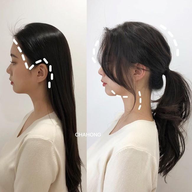 Gái Hàn có một chiêu vuốt tóc mái để buộc tóc kiểu nào cũng sang, mặt nhỏ gọn thanh tú hơn hẳn - Ảnh 7.