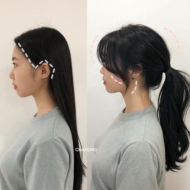 Gái Hàn có một chiêu vuốt tóc mái để buộc tóc kiểu nào cũng sang, mặt nhỏ gọn thanh tú hơn hẳn - Ảnh 5.