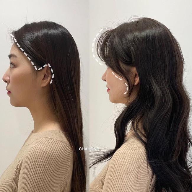 Gái Hàn có một chiêu vuốt tóc mái để buộc tóc kiểu nào cũng sang, mặt nhỏ gọn thanh tú hơn hẳn - Ảnh 4.