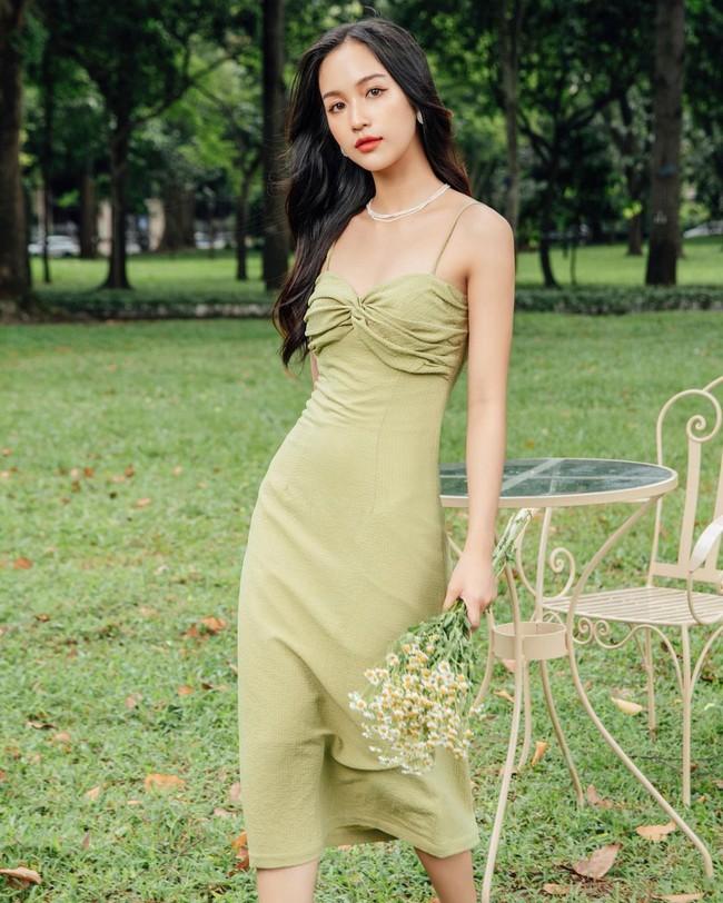 HH Kỳ Duyên mới đổi kiểu váy hai dây: Diện lên hình sống ảo xinh ngây ngất, nàng hậu còn tiết lộ luôn chỗ mua - Ảnh 9.