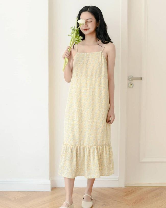 HH Kỳ Duyên mới đổi kiểu váy hai dây: Diện lên hình sống ảo xinh ngây ngất, nàng hậu còn tiết lộ luôn chỗ mua - Ảnh 7.