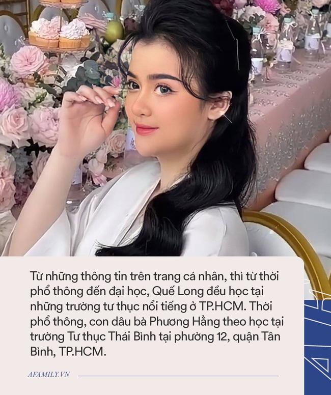 Con dâu nữ đại gia Phương Hằng: Học tại trường tư thục nổi tiếng ở TP.HCM, danh sách bạn bè toàn nhân vật showbiz đình đám - Ảnh 6.