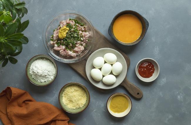 Trứng luộc thêm 4 bước và 4 loại nguyên liệu này cực thơm ngon, lạ miệng, ai ăn cũng tấm tắc khen ngợi - Ảnh 2.