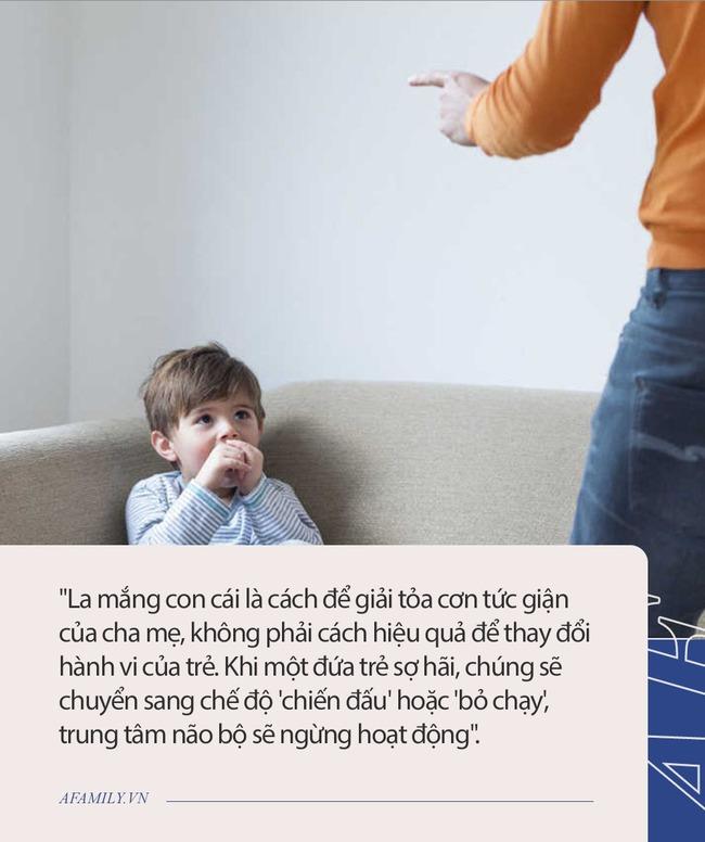 6 tác hại khi la mắng trẻ không mang lại hiệu quả như cha mẹ mong đợi - Ảnh 1.