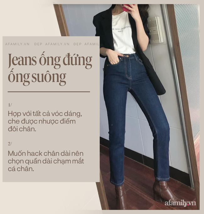 """Mê quần jeans đến mức cô nàng này có hẳn một review """"tường tận"""" về 3 kiểu jeans tôn dáng nhất dành cho các chị em - Ảnh 2."""