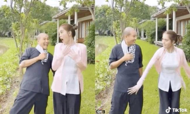 Bị chỉ trích nhiều lần nhưng Ngọc Trinh vẫn quay clip phản cảm, lần này còn cười hớn hở khi Vũ Khắc Tiệp vỗ vòng 3 - Ảnh 5.