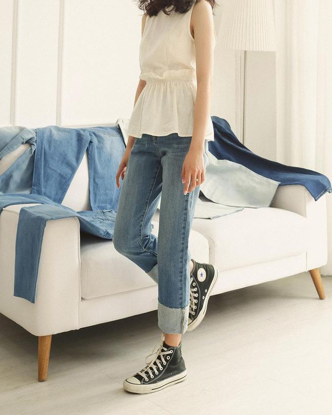 10 shop bán quần jeans chuẩn mốt chỉ từ 350k: Mẫu mã đa dạng hợp mọi vóc dáng - Ảnh 17.