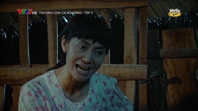Hạnh Thúy gây bức xúc vì hành hạ cháu gái dã man trong phim VTV - Ảnh 2.