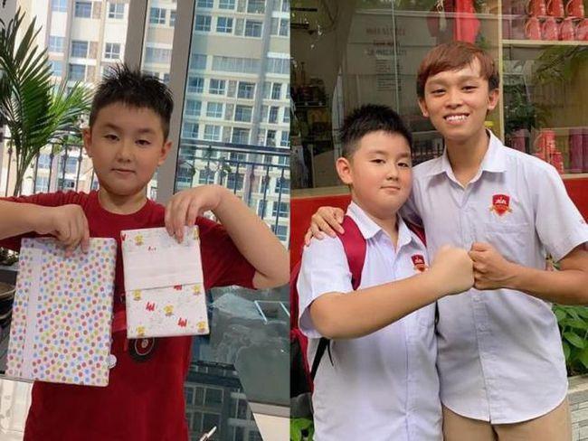 Hậu ly hôn Quách Ngọc Ngoan, Lê Phương nuôi dạy con miễn chê, cho nhóc Cà Pháo học tại trường quốc tế sang, xịn mà lại rẻ - Ảnh 3.