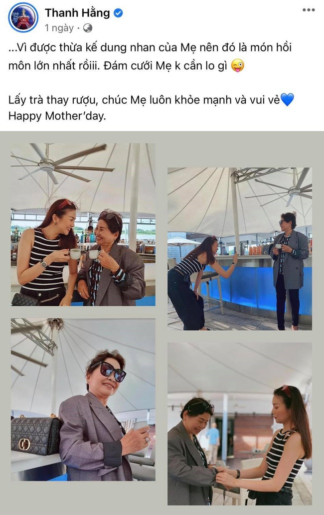 """Sao Việt trong Ngày của mẹ: Kim Lý gửi lời yêu thương cho 4 người mẹ cùng Hồ Ngọc Hà, Nhã Phương nhắn nhủ """"bên mẹ là nơi bình yên nhất"""" - Ảnh 11."""