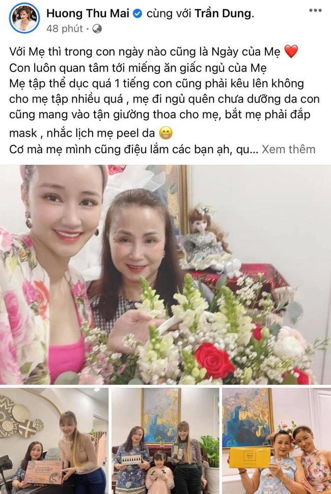 """Sao Việt trong Ngày của mẹ: Kim Lý gửi lời yêu thương cho 4 người mẹ cùng Hồ Ngọc Hà, Nhã Phương nhắn nhủ """"bên mẹ là nơi bình yên nhất"""" - Ảnh 13."""