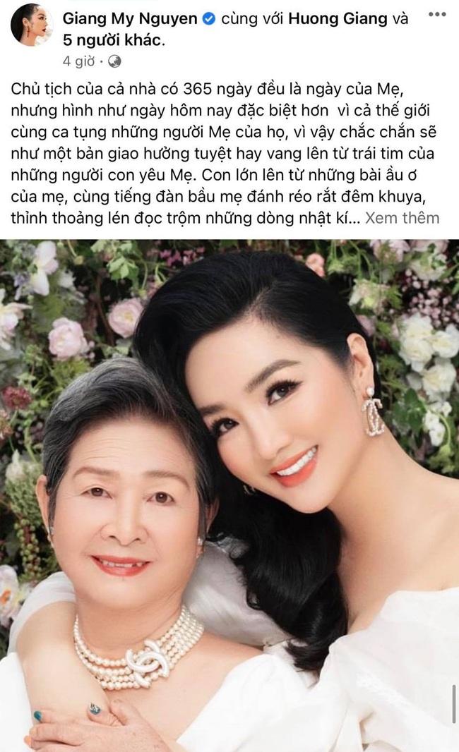 """Sao Việt trong Ngày của mẹ: Kim Lý gửi lời yêu thương cho 4 người mẹ cùng Hồ Ngọc Hà, Nhã Phương nhắn nhủ """"bên mẹ là nơi bình yên nhất"""" - Ảnh 6."""