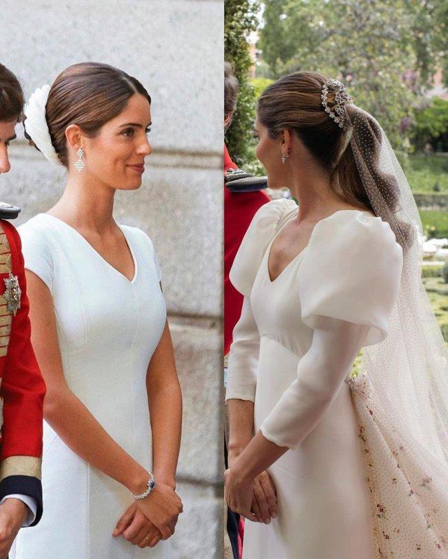 Không phải Kate Middleton hay Meghan Markle, đây mới là 2 cô dâu Hoàng gia có món trang sức cưới thanh tao đặc biệt nhất - Ảnh 2.