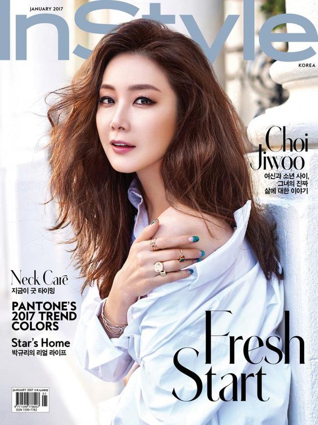 """""""Nữ hoàng nước mắt"""" Choi Ji Woo: Nhiều năm lận đận đường tình duyên, đang ổn định với hôn nhân ở tuổi U50 lại bất ngờ bị """"bóc"""" đời tư thác loạn - Ảnh 4."""