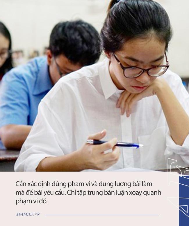 """Trước giờ """"G"""" thi tuyển sinh lớp 10, cô giáo dặn dò chi tiết những điều cần nhớ khi làm bài môn Ngữ Văn, thí sinh lưu ý để đạt điểm tốt nhất - Ảnh 2."""