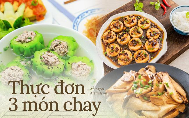 Thực đơn 3 món chay cho bữa tối đầu tháng: Toàn món đơn giản mà vẫn đảm bảo đưa cơm vô cùng! - Ảnh 1.