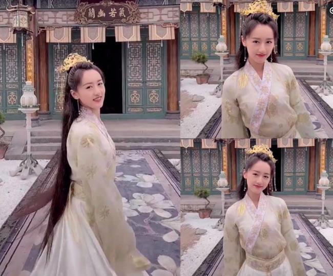 Viên Băng Nghiên xoay váy lộ góc nghiêng, xinh đẹp thế nào mà fan tức giận trách móc ekip Lưu ly mỹ nhân sát - Ảnh 1.