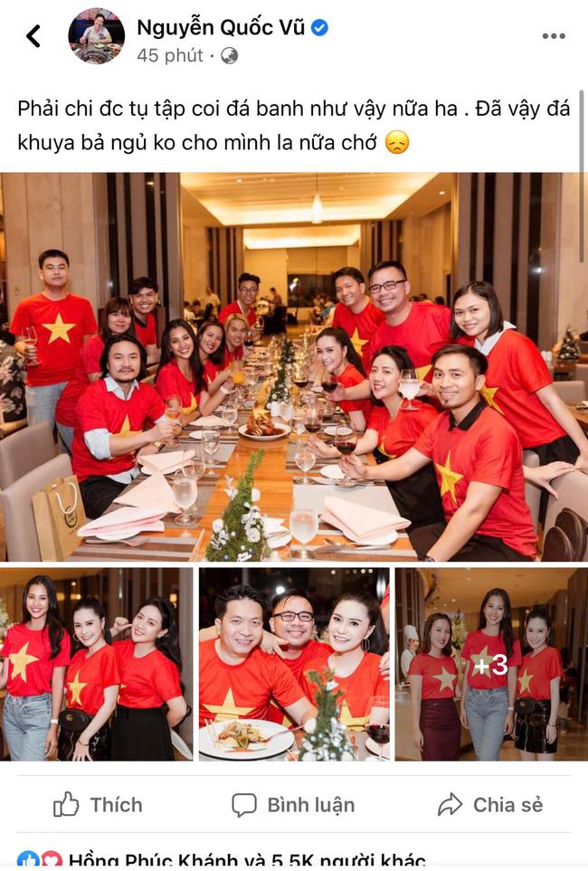 """Dân mạng """"hừng hực"""" tinh thần cổ vũ đội tuyển Việt Nam trước giờ ra sân  - Ảnh 5."""