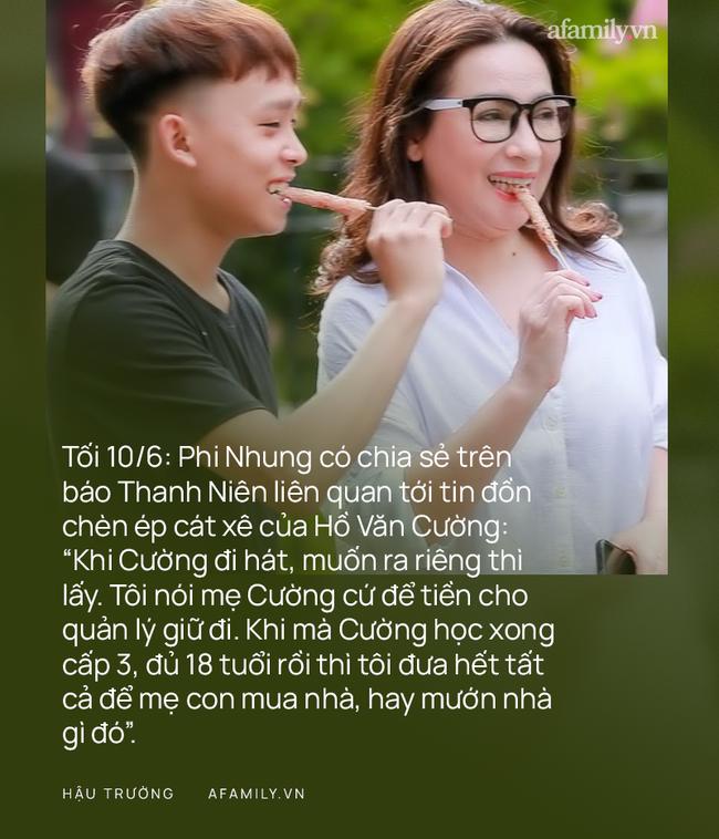 """Toàn cảnh vụ lùm xùm của Phi Nhung và Hồ Văn Cường: Bài đăng kêu cứu thay Hồ Văn Cường, tới lời khẳng định """"đanh thép"""" từ Phi Nhung về cát xê của con trai nuôi - Ảnh 11."""