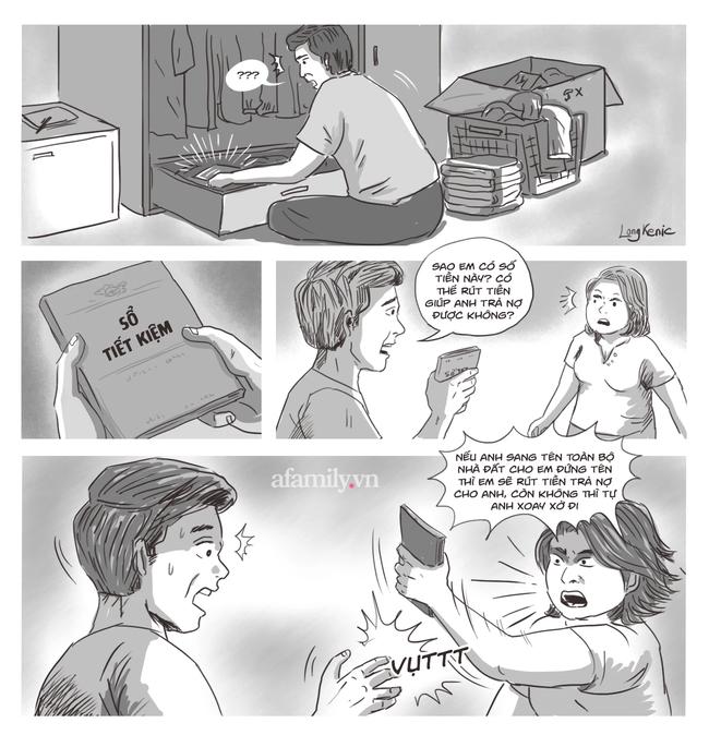 Chuẩn bị bán nhà trả nợ, bất ngờ phát hiện vợ có cuốn sổ tiết kiệm 3 tỷ cất kỹ dưới đáy tủ - Ảnh 1.