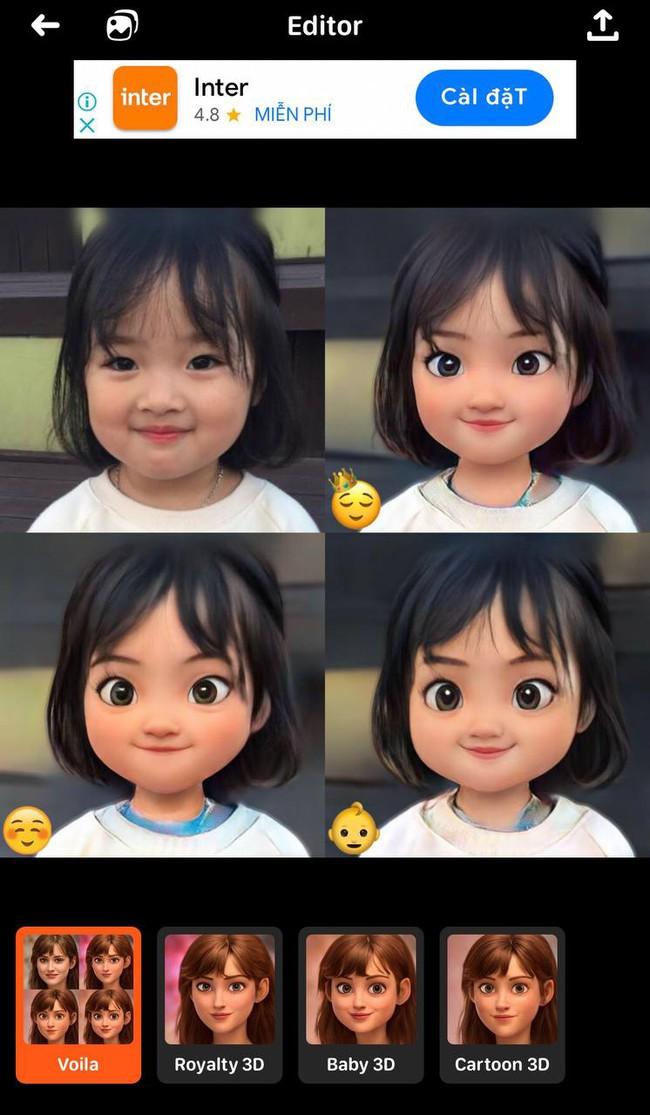 """Hội bỉm sữa cười """"nhức ruột"""" với App giúp biến hình ảnh của con thành nhân vật hoạt hình Disney, nhưng cần cẩn thận kẻo mất tiền oan - Ảnh 2."""