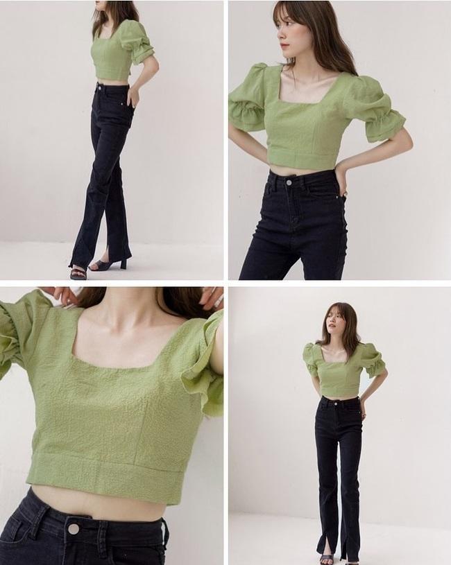 Rosé và Jihyo vừa diện áo blouse cổ vuông rất sang xịn mịn, gợi ý cho bạn vài thiết kế tương tự để sắm theo - Ảnh 5.