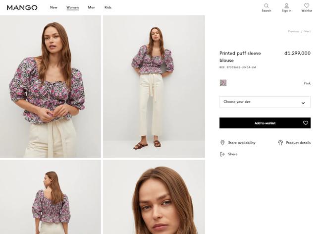 Rosé và Jihyo vừa diện áo blouse cổ vuông rất sang xịn mịn, gợi ý cho bạn vài thiết kế tương tự để sắm theo - Ảnh 11.