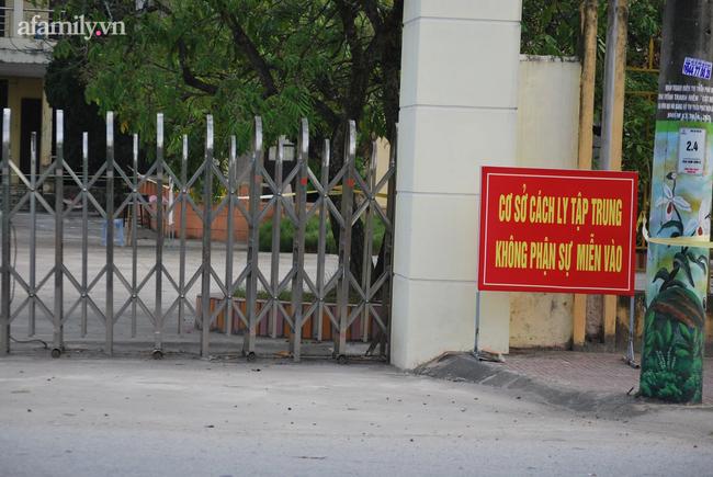 Khu cách ly tập trung của huyện Kim Sơn