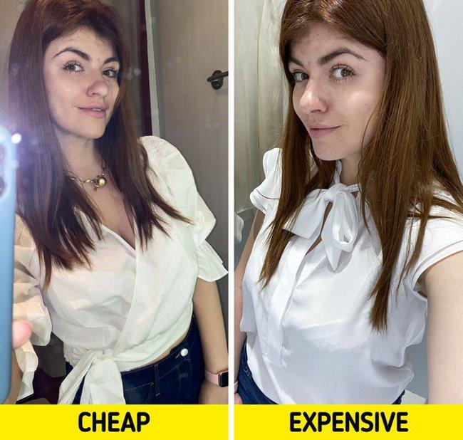 """So sánh quần áo đắt - rẻ khác nhau, nàng BTV có kết luận """"ngã ngửa"""" nhưng sẽ giúp chị em tiết kiệm bộn tiền  - Ảnh 3."""