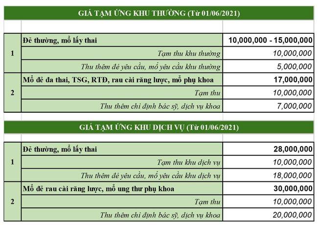 Bệnh viện Phụ sản Hà Nội vừa điều chỉnh chi phí sinh nở và bổ sung thêm một số dịch vụ, mẹ bầu lưu ý để đưa ra lựa chọn phù hợp - Ảnh 3.