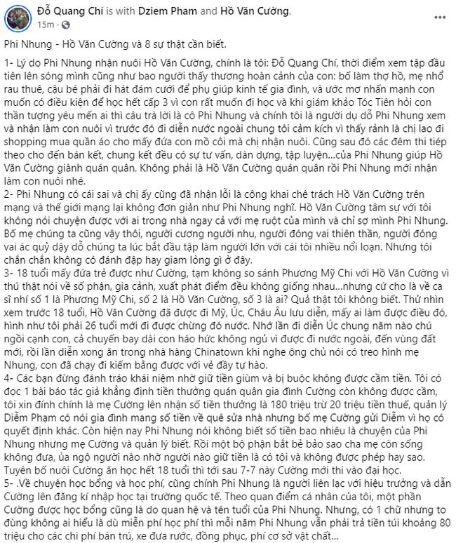 Người giới thiệu Hồ Văn Cường cho Phi Nhung tiết lộ 8 sự thật liên quan tới lùm xùm vừa qua, bóng gió về Hoa hậu 200 tỷ - Ảnh 2.