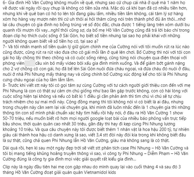 Người giới thiệu Hồ Văn Cường cho Phi Nhung tiết lộ 8 sự thật liên quan tới lùm xùm vừa qua, bóng gió về Hoa hậu 200 tỷ - Ảnh 3.