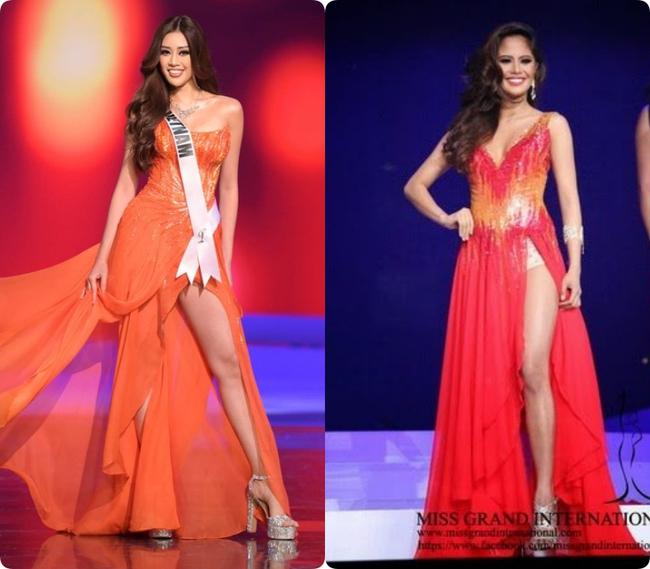"""HH Philippines mà Khánh Vân vướng ồn ào đạo nhái, ngay chung kết Miss Grand còn lộ cả nội, đã thế còn """"hoa hòe hoa sói"""" - Ảnh 1."""