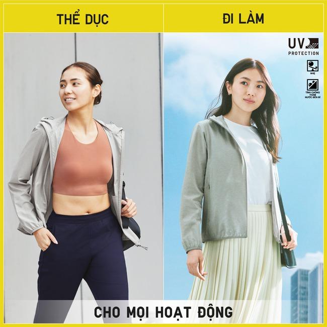 Top 5 mẫu áo chống nắng cản tia UV đáng sắm nhất hiện nay: Dòng áo mới của Uniqlo khiến bạn bất ngờ hơn cả - Ảnh 3.