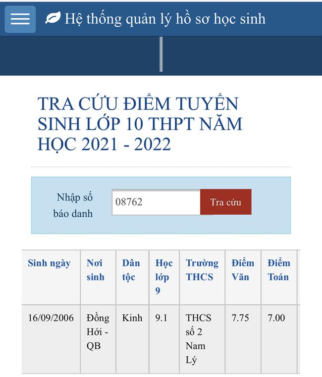 25 tỉnh thành công bố điểm thi tuyển sinh lớp 10 năm 2021 - Ảnh 1.