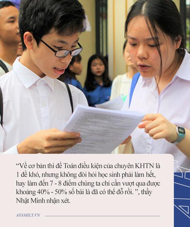 Thầy giáo chia sẻ kinh nghiệm thi toán vào ngôi trường thí sinh Olympia Hải An đang theo học, lứa 2007 có thể tham khảo - Ảnh 4.