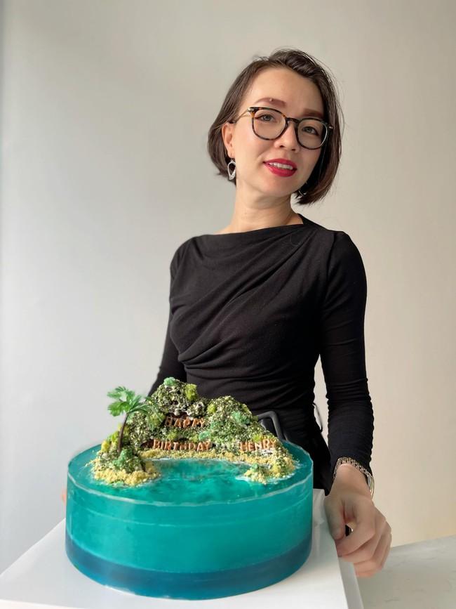 Chiếc bánh sinh nhật của Subeo nhà Hà Hồ khiến cõi mạng trầm trồ, tác giả chia sẻ trọn công thức nhưng gây sốc nhất là thời gian hoàn thành - Ảnh 19.