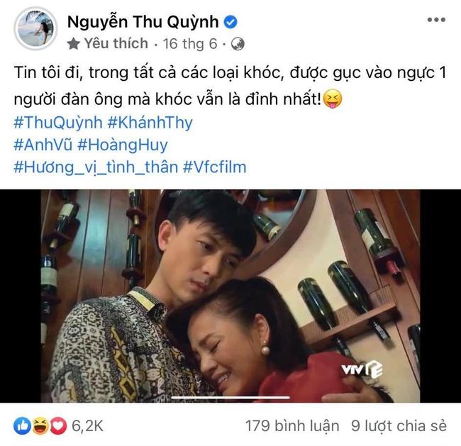 Hương vị tình thân: Lộ clip ảnh cưới không có trên phim của Thu Quỳnh - Hoàng Anh Vũ khiến fan muốn đẩy thuyền từ phim ra đời - Ảnh 4.