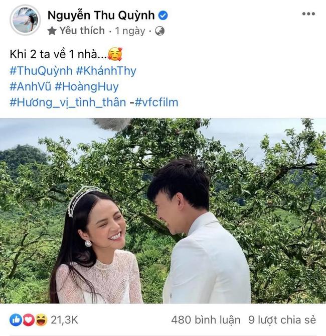 Hương vị tình thân: Lộ clip ảnh cưới không có trên phim của Thu Quỳnh - Hoàng Anh Vũ khiến fan muốn đẩy thuyền từ phim ra đời - Ảnh 5.
