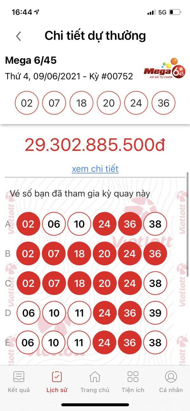 Mua Vietlott qua tin nhắn, người đàn ông vừa trúng Jackpot có giá trị lớn nhất đầu tiên qua kênh SMS vừa trúng thêm 2 giải thưởng khác - Ảnh 1.
