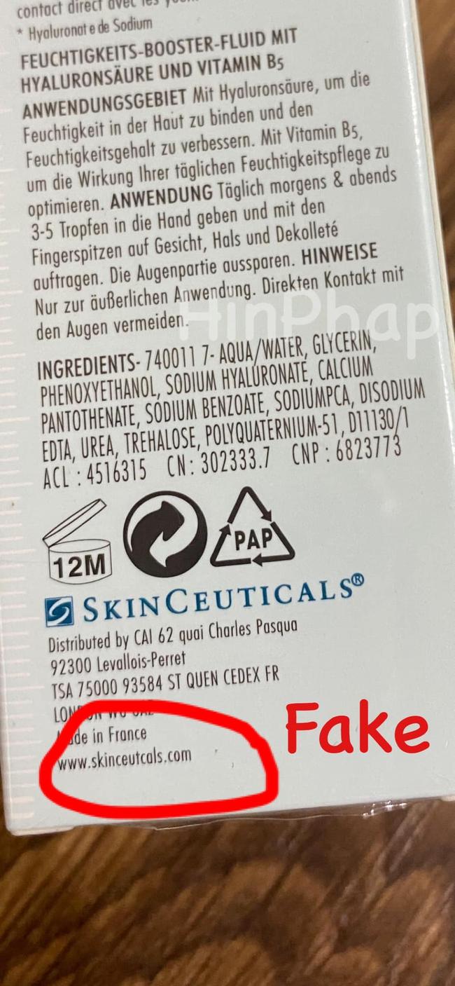 Cảnh báo: Bỏ 800k mua lọ serum B5 SkinCeuticals mới biết là hàng fake, chị em cần biết phân biệt thật - giả từ chi tiết nhỏ nhất - Ảnh 5.