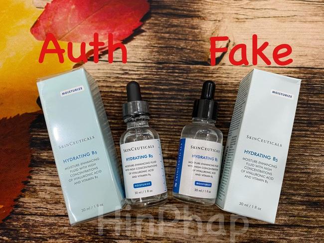 Cảnh báo: Bỏ 800k mua lọ serum B5 SkinCeuticals mới biết là hàng fake, chị em cần biết phân biệt thật - giả từ chi tiết nhỏ nhất - Ảnh 4.