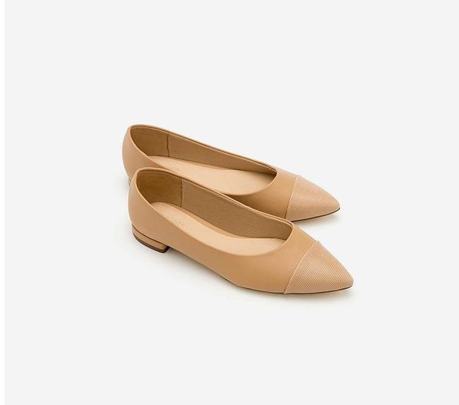12 đôi giày màu be chỉ từ 212k: Cân được mọi kiểu trang phục, chọn giày bệt cũng hack được vài phân chiều cao - Ảnh 15.