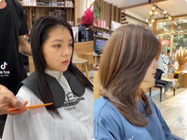Chẳng cần tận Hàn Quốc xa xôi, hair stylist Việt cũng cắt layer đẹp  - Ảnh 3.