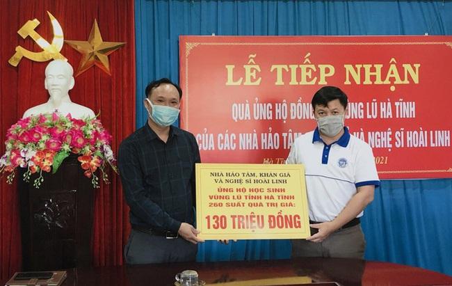 Hoài Linh đã giải ngân xong tiền ủng hộ miền Trung, số tiền tổng kết lại hơn 15 tỷ đồng - Ảnh 1.