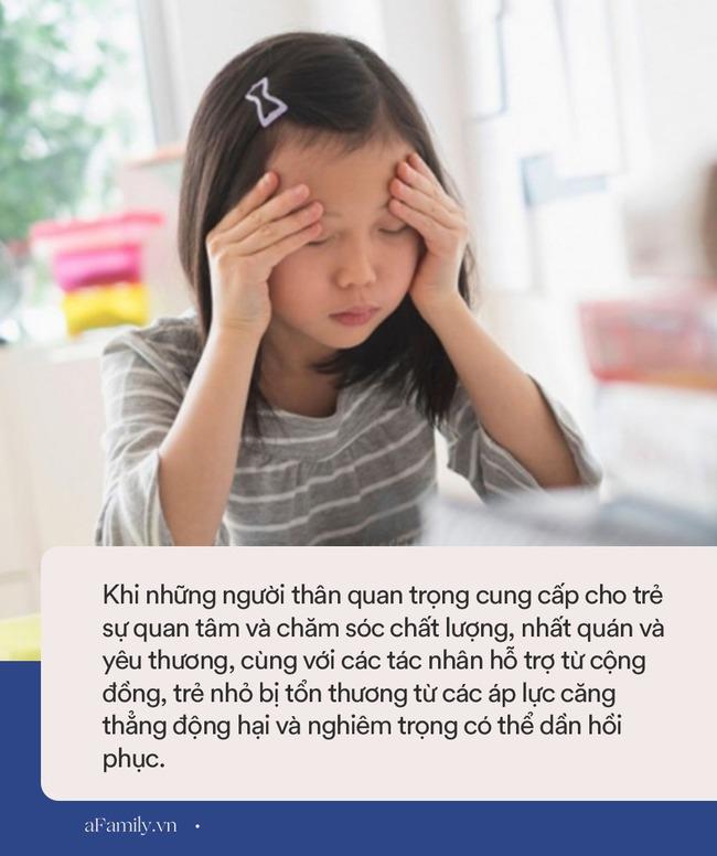 4 mức độ stress tác động lên trẻ nhỏ, bố mẹ cần hiểu rõ để con không phải lớn lên trong cảm giác đau khổ tuyệt vọng - Ảnh 2.