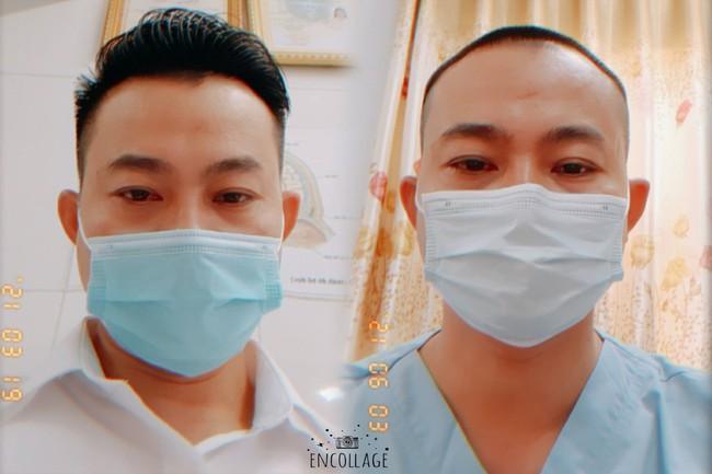 """Bác sĩ Bệnh viện C Đà Nẵng:""""Xuống tóc đi chi viện Bắc Giang lại thấy kiểu đầu này cũng hợp"""" - Ảnh 1."""