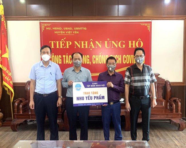 BV Group tài trợ cho Bắc Giang hơn 20.000 khay xét nghiệm SARS-CoV-2 - Ảnh 1.